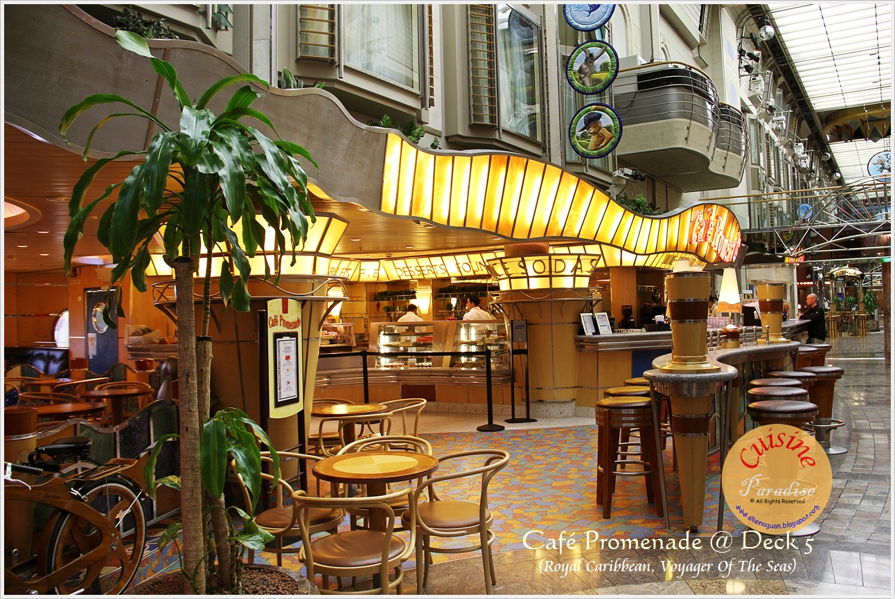 Cuisine Paradise Eat Shop And Travel Voyager Of The Seas Royal Caribbean International