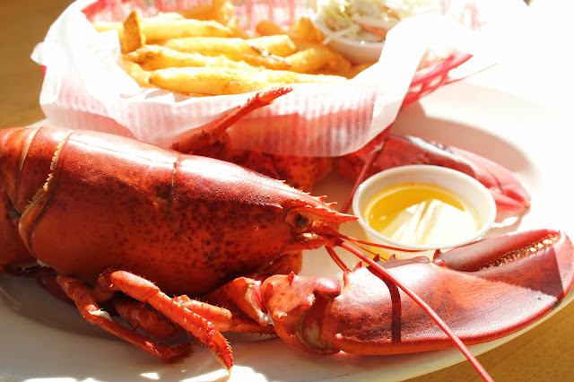 Maine Lobster at The Pilot House