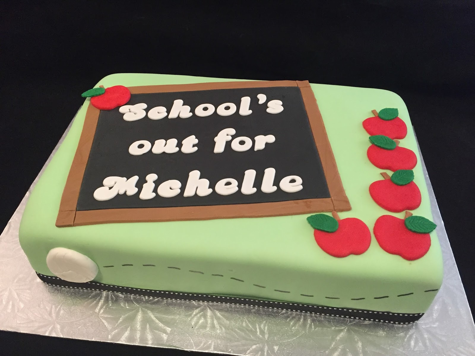 Marvelous Teacher Retirement Cake Birthday Cards Printable Inklcafe Filternl