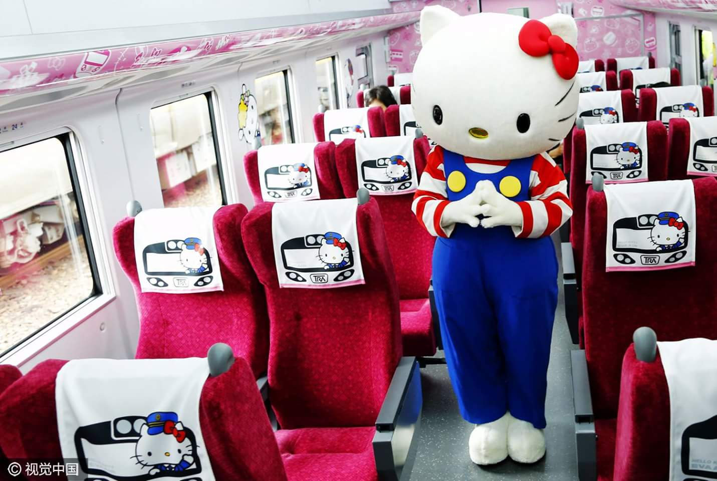 Hello Kitty Express Train in Taiwan