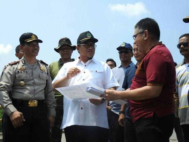 Gubernur Minta Dinas BMPR Segera Lakukan Kajian dan Perbaiki Jembatan Cipamingkis