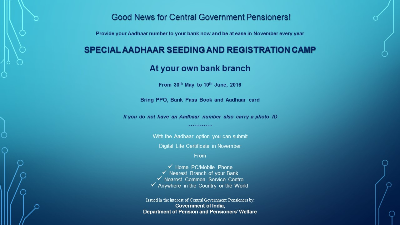 Aadhar card registration centre in bangalore dating 10