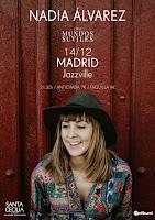 Concierto de Nadia Álvarez en Jazzville