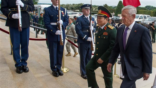 The United States, Vietnam agree to strengthen military ties amid Chinese dispute