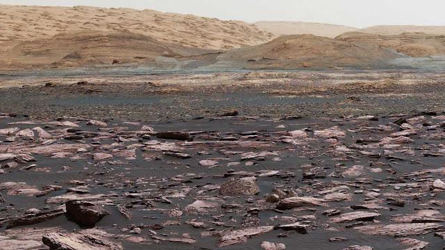 Curiosity descobriu algo que levanta mais perguntas sobre a vida em Marte