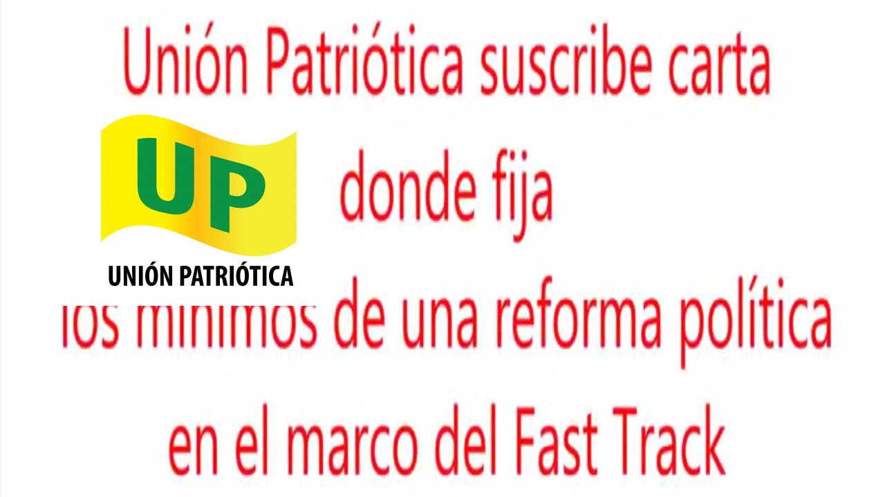 Gabriel Becerra Vocero Nacional de la UP opína sobre la reforma política