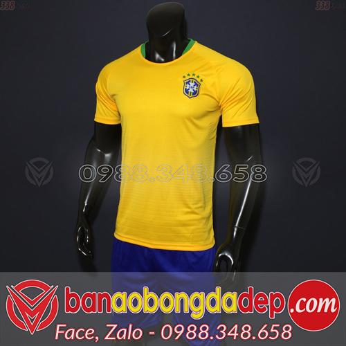Áo Brazil vàng sân nhà 2019