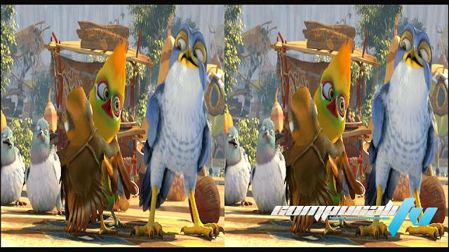 Aventuras en Zambezia 3D SBS 1080p