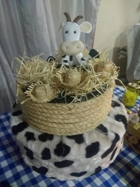 Aniversário DIY, aniversário menino, aniversário simples, decoração, decoração fazendinha, Fazendinha, Festinhas, Minhas 24 Horas, passo a passo,