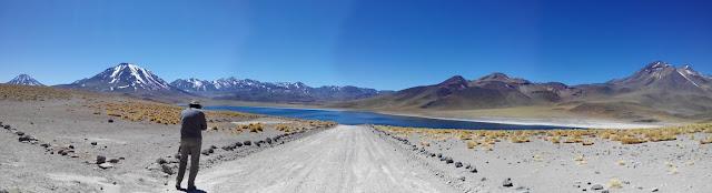 Camino a las Lagunas altiplánicas