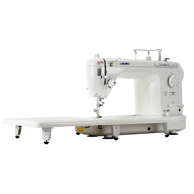 "Juki TL-2000Qi 9"" Long-Arm Quilting Machine with1 Pedal/Trim, w/ 100 Free Needles, 20 Bobbins & $50.00 Gift Certificate"