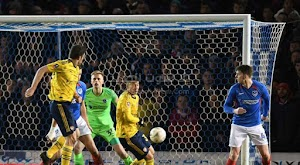 آرسنال يتاهل لربع نهائي كأس الإتحاد الإنجليزي على حساب فريق بورتسموث .. portsmouth vs arsenal fc