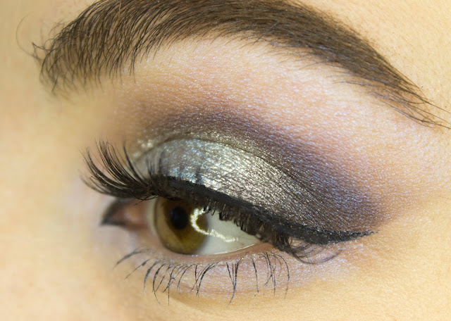 New year make-up 2018: with Limoni Eye Shadow 203 - Frosty Waterwall