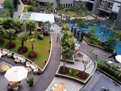 Balcony View at Hotel Mercure Bandung Setiabudi