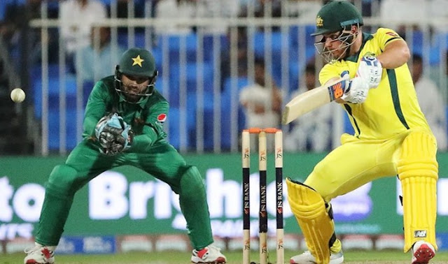 Australia defeated Pakistan in the first one day