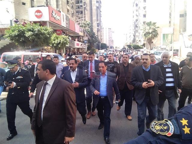 عاجل| أول ظهور لمدير أمن الإسكندرية عقب محاولة اغتياله (فيديو)