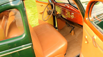 1939 Ford Deluxe Coupe Dashboard Interior