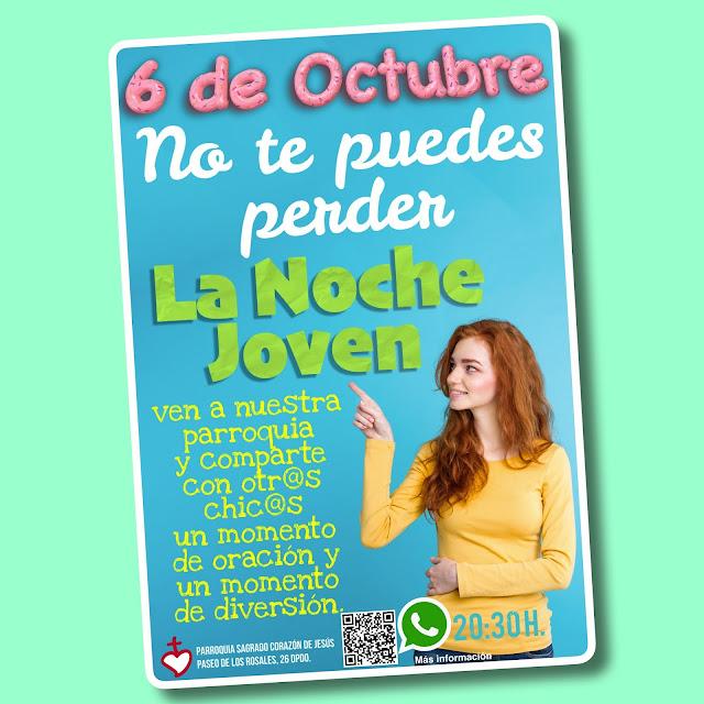 La Noche Joven, el próximo 6 de Octubre 2017