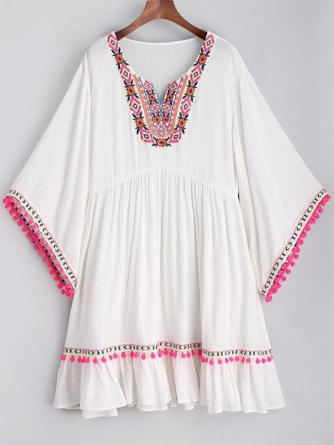 vestido playero zaful
