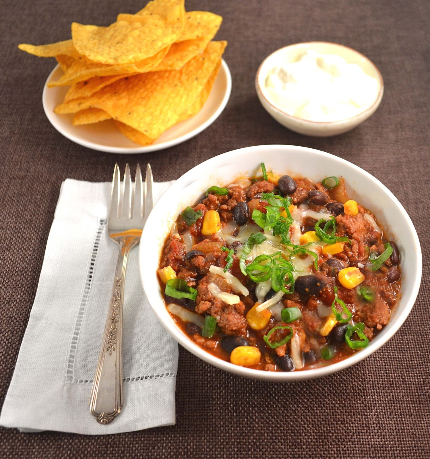 Jilly...Inspired : Thick & Hearty Diner-Style Chili
