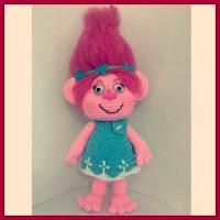 Princesa poppy de trolls