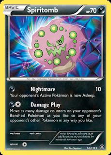 Spiritomb Steam Siege Pokemon Card