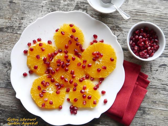 Surówka z pomarańczy i pestek granatu. Dieta - szybka przemiana - Czytaj więcej »