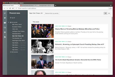 Opera browser rss feed reader
