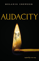 Audacity, by Melanie Crowder book cover and review