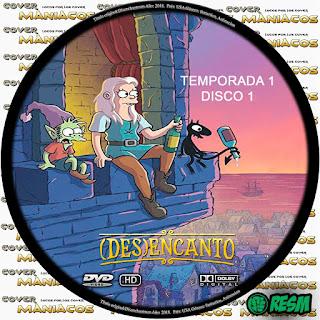 GALLETA 1 DISENCHANTMENT - DESENCANTO - (DES)ENCANTO [COVER-DVD]