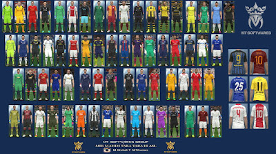 PES 2016 New Kits 2016-17 vol. 2.1 by MT Games 1991
