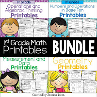 https://www.teacherspayteachers.com/Product/First-Grade-Math-Printables-2007863