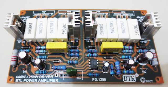 Cara Modifikasi Amplifier Rakitan Menambah Bass Makin Jozzz
