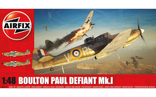 Montage du Boulton Paul Défiant de Airfix au1/48.