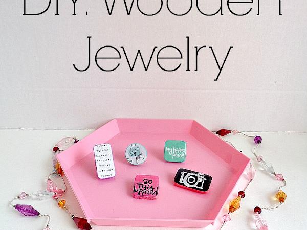 DIY: Wooden Jewelry