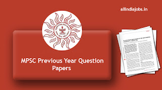 MPSC Sales Inspector Previous Year Question Papers