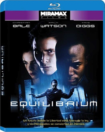 Equilibrium 2002 Dual Audio Hindi 480p BluRay 300mb