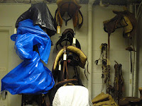 saddle storage, museums, historic sites, cultural heritage, antique saddles, safe storage of saddles