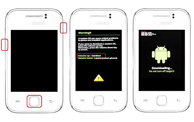 Tutorial Cara Pasang CWM Pada Samsung Galaxy V SM-G313HZ