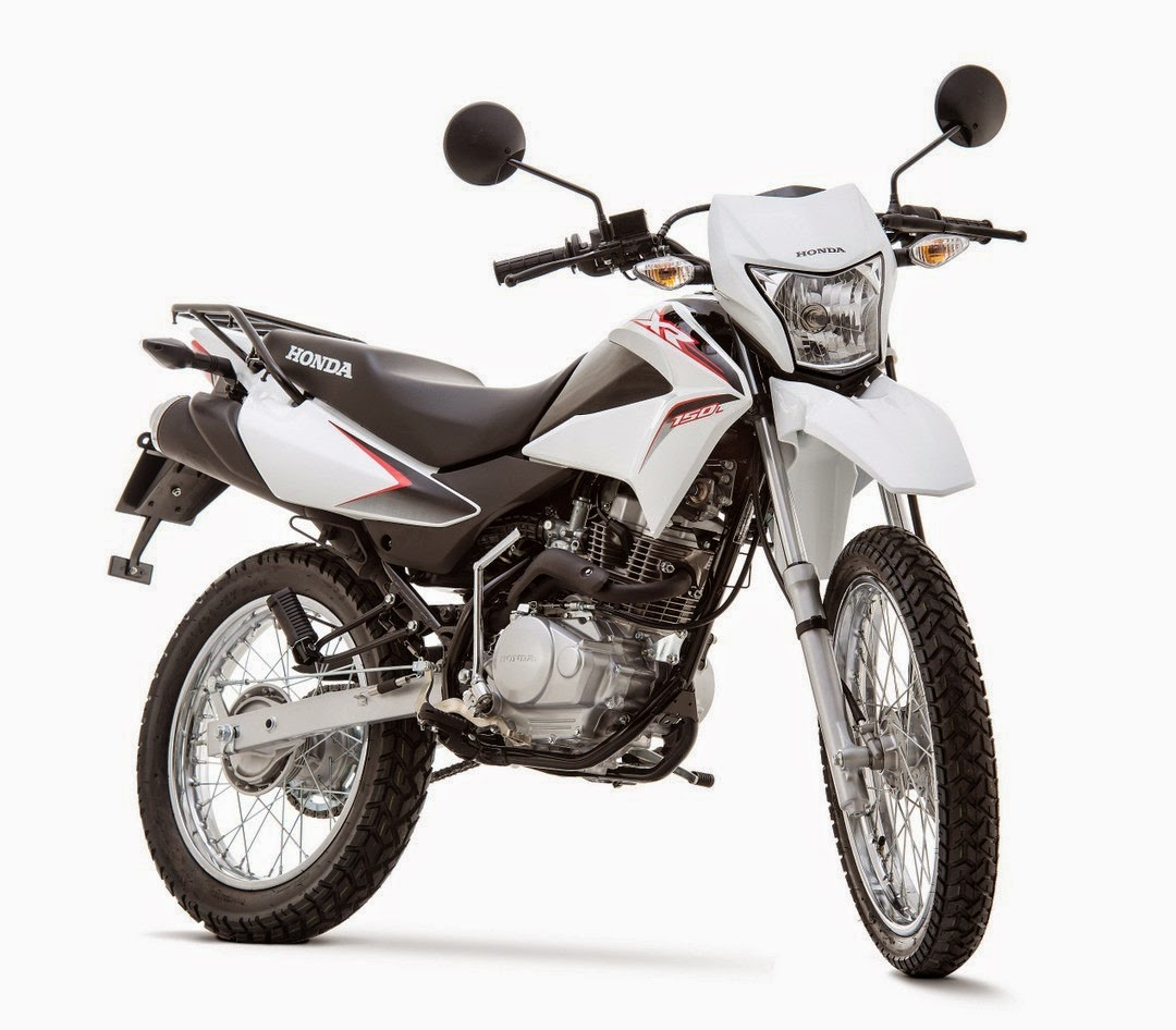 Theres a white xr150l me gusta