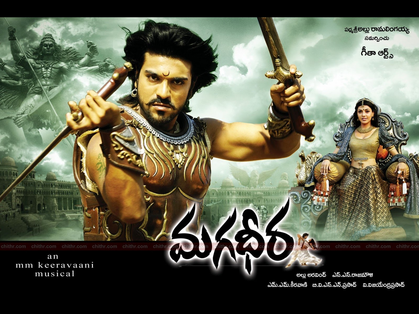 Ram Charan, Kajal Aggarwal south indian movie Magadheera is second biggest film in Tollywood wiki