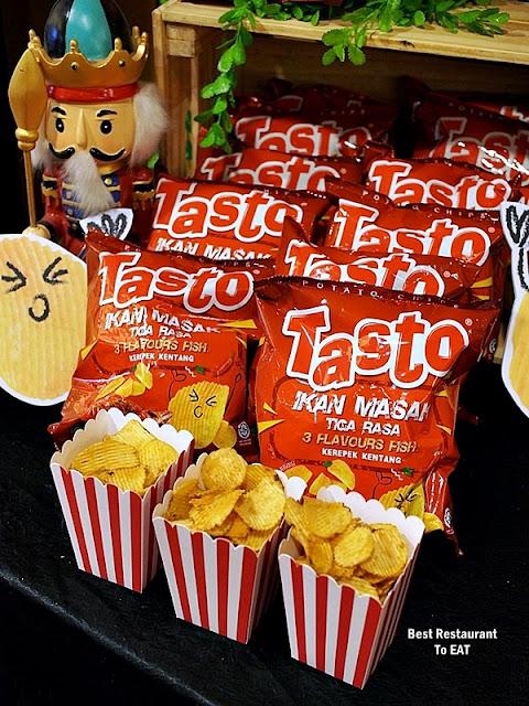 Tasto Potato Chips - 3 Flavours Fish - Ikan Masak Tiga Rasa