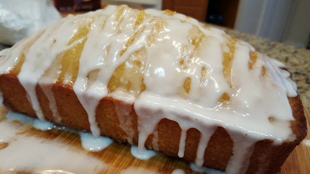 Glaze the Lemon Bread