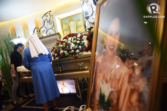 Miriam Defensor-Santiago To Be Buried Next To Her Son on October 2