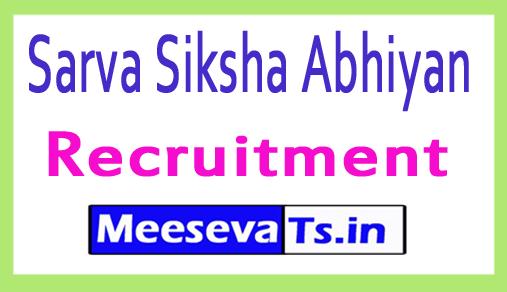 Sarva Siksha Abhiyan SSA Recruitment