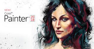 أقوى برنامج لعمل الوحات الفنية CorelPainter2018