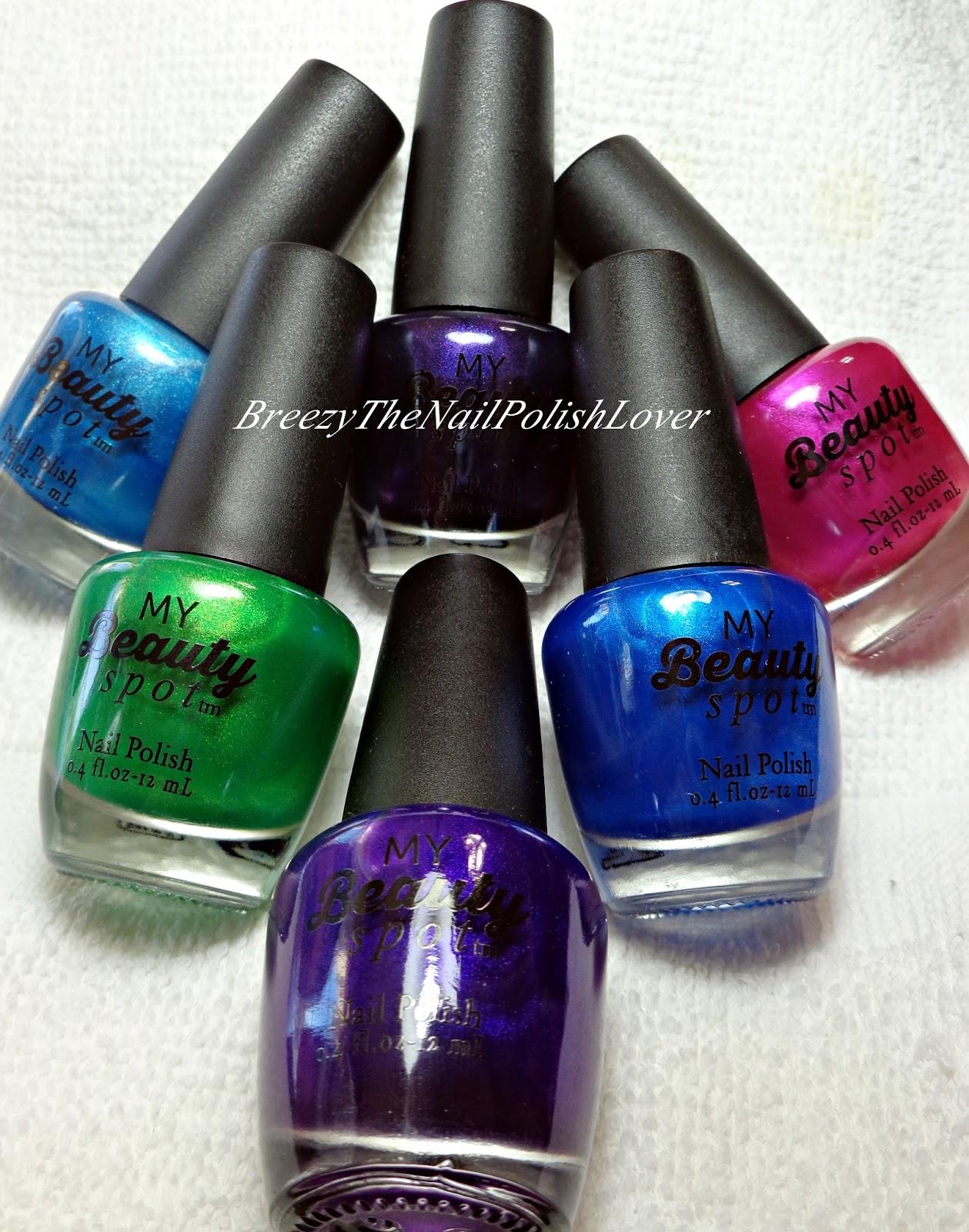 BreezyTheNailPolishLover: My Beauty Spot Nail Polish Nail Design #2!