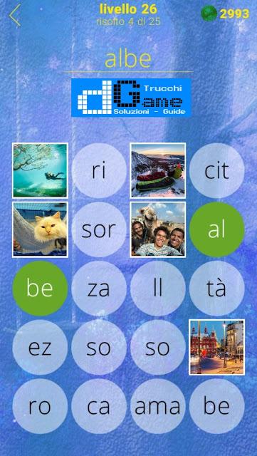 650 Foto soluzione pacchetto 26 livelli (1-25)
