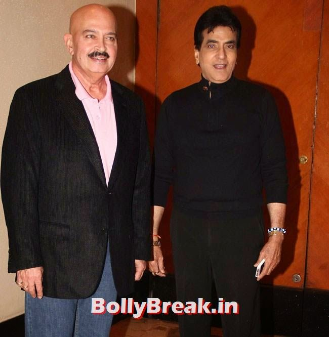 Rakesh Roshan and Jitendra, Celebs at Celebrations of Shatrughan Sinha Lok Sabha Election success