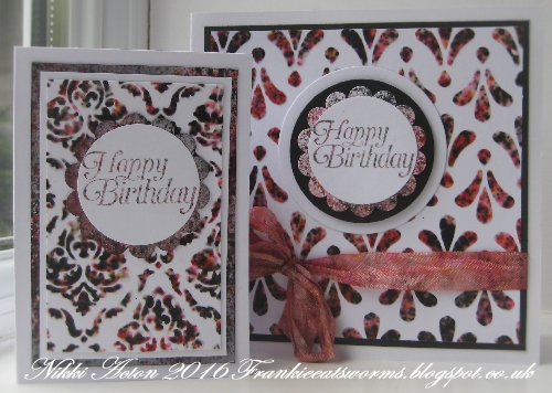 PaperArtsy Infusions with texture paste